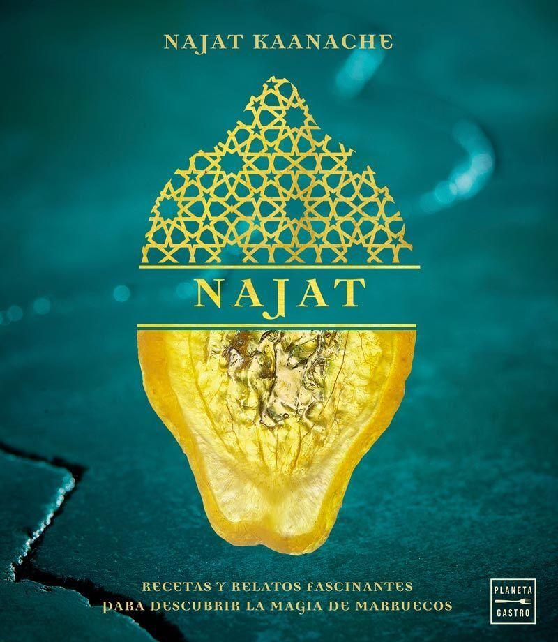 LIbro najat con recetas y relatos fascinantes para descubrir la magia de Marruecos