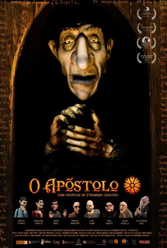 cartel pelicula o apostolo de santiago