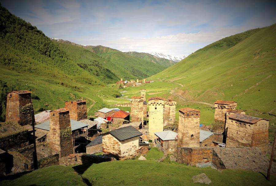 aldea de georgia