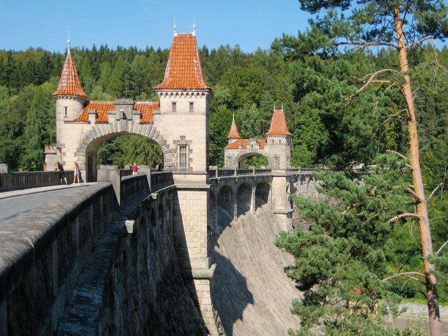 Presa de Lesni Kralovstvi en republica checa