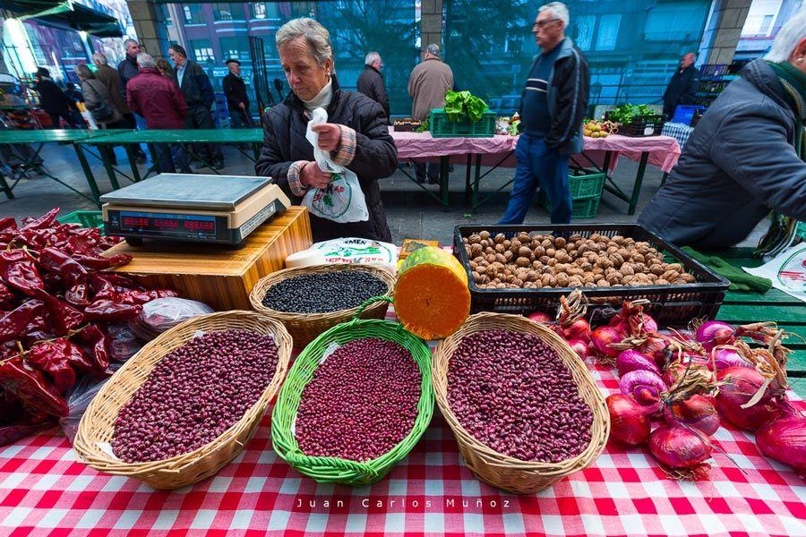 legumbres mercado de gernika