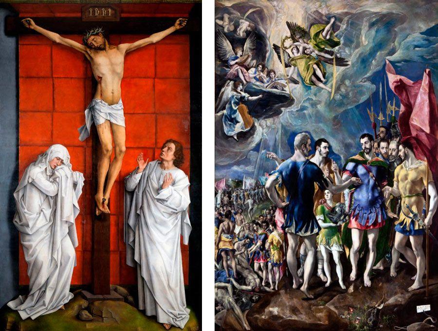 arte en el escorial madrid