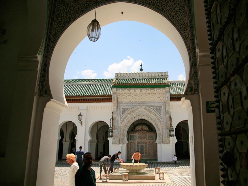 Mezquita de Karaouine o al Qarawiyyin en fez