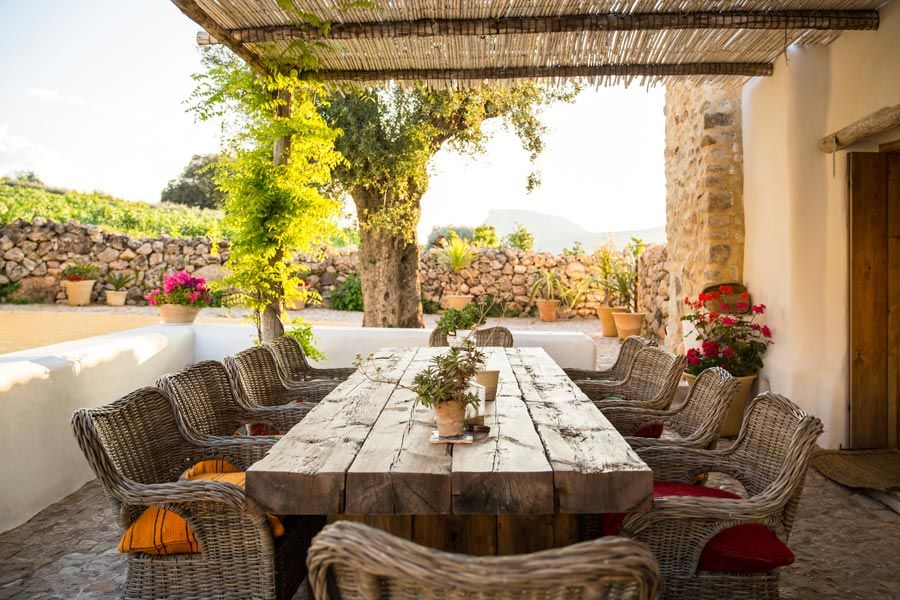la donaira cortijos andaluces en  Serrania de Ronda  Malaga
