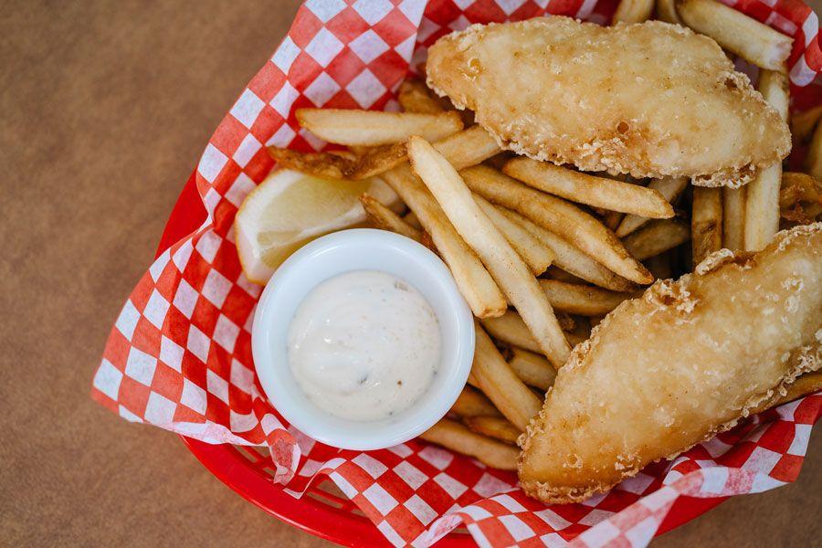 Fish and chips entre los platos británicos populares