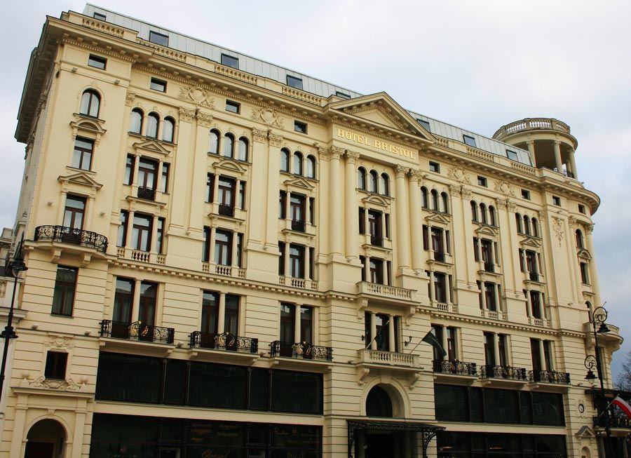 hotel bristol en Varsovia