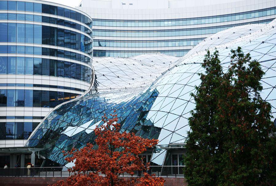 centro comercial terrazas doradas en Varsovia