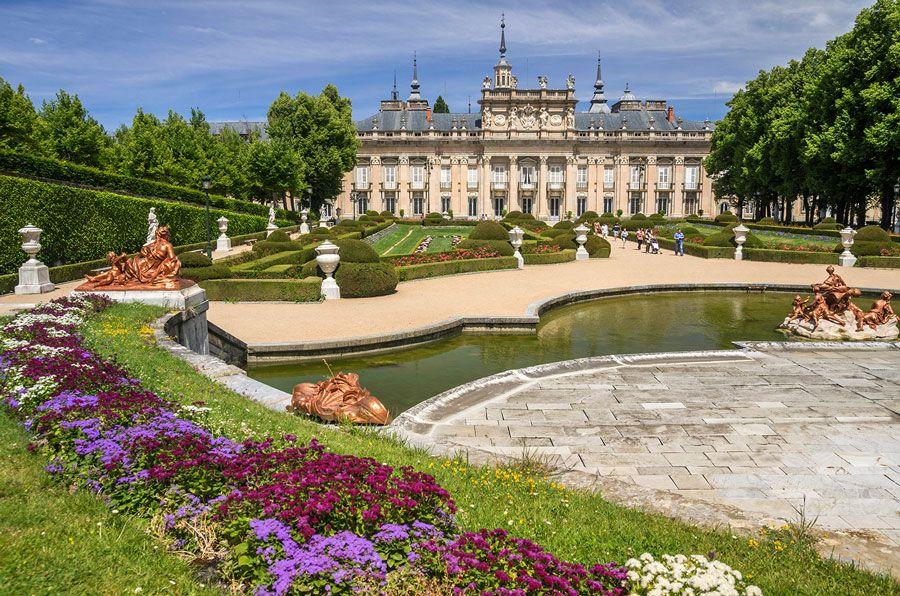 palacio y jardines de la granja en segovia lugares imprescindibles que ver en Segovia