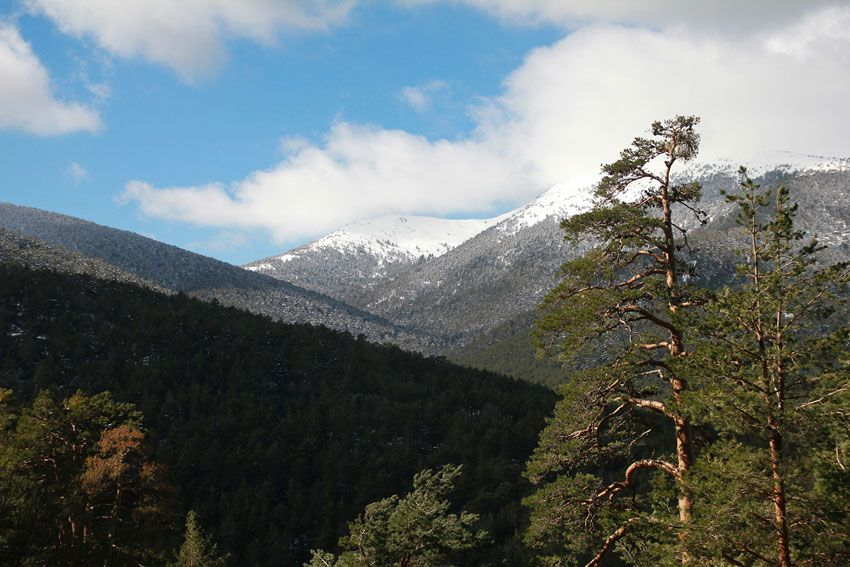 Sierra de Guadarrama desde segovia