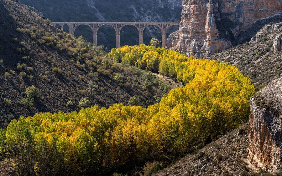 parque natural hoces del riaza lugares bonitos que ver en Segovia