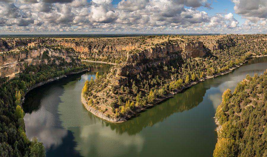 hoces del rio duraton lugares imprescindibles que ver en Segovia