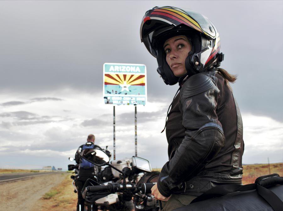 alicia sornosa viajera en moto