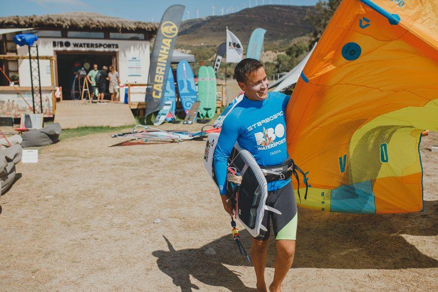 bibo water surf kitesurf playa valdevaqueros