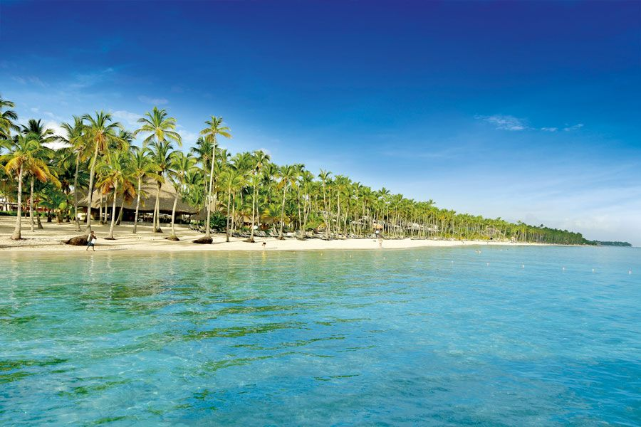 playa de hotel de cinco estrellas en Republica Dominicana