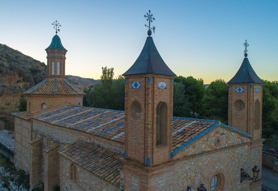 ermita de la Virgen de la Fuente en Muel