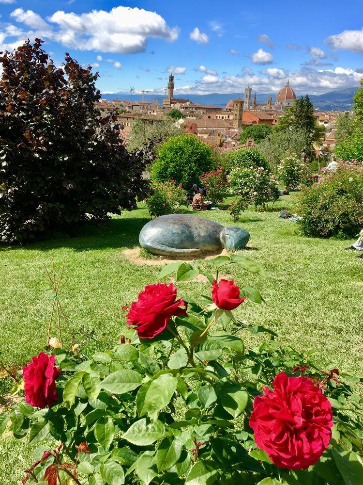jardin de las rosas de florencia
