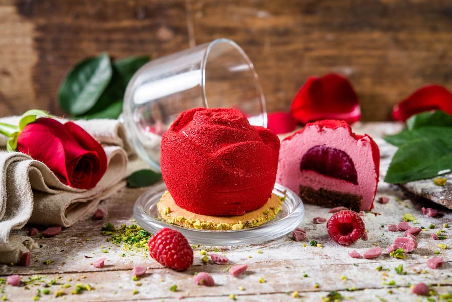 tartaleta rosa regalo original para el Dia de la Madre