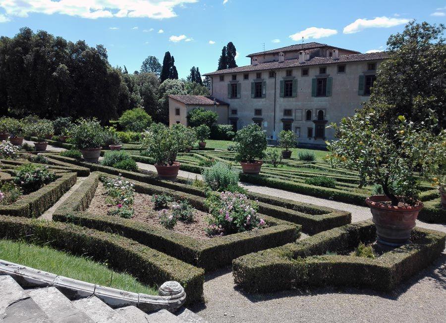 Villa Castello jardines de florencia
