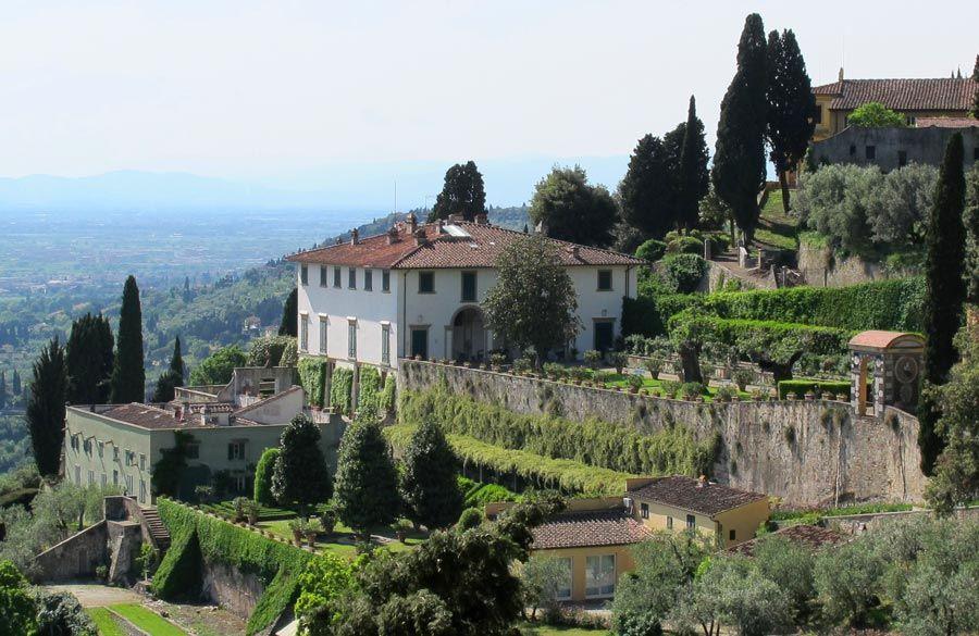 Villa Medici Fiesole mejores jardines de florencia