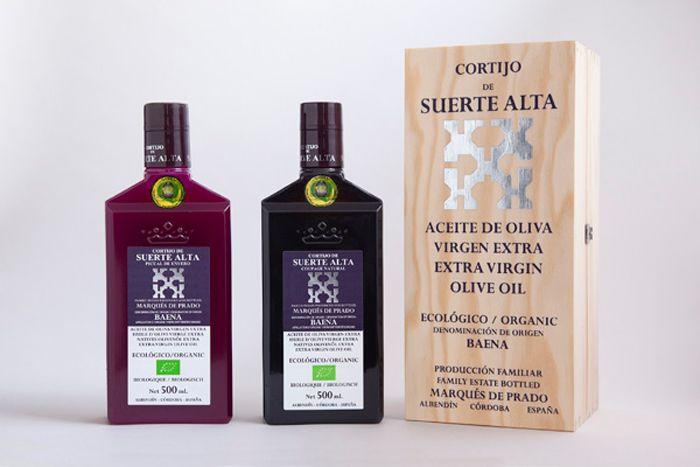 aceite Cortijo Suerte Alta regalo original para el Dia de la Madre