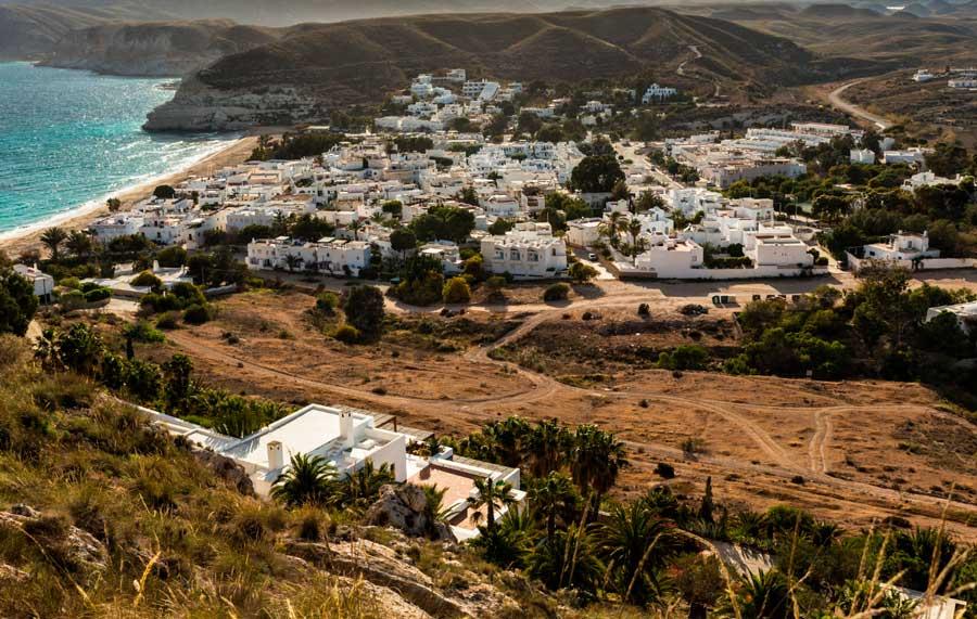 agua amarga pueblo de Cabo de Gata