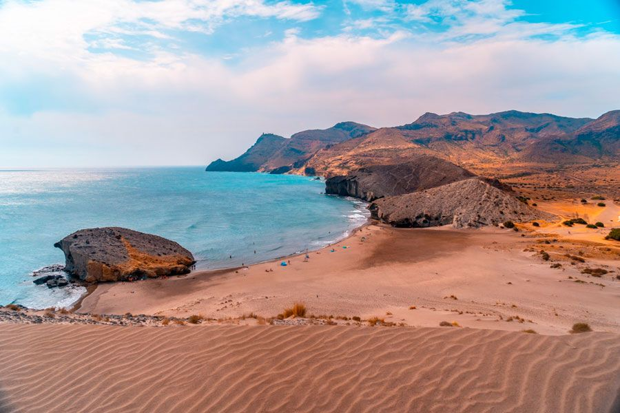 playa monsul almeria