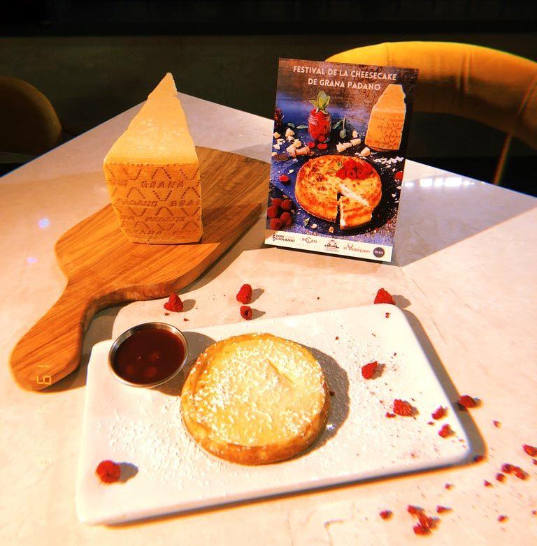 Cheesecake de oven mozzarella