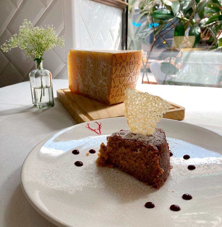 tarta Festival de la cheesecake de Grana Padano