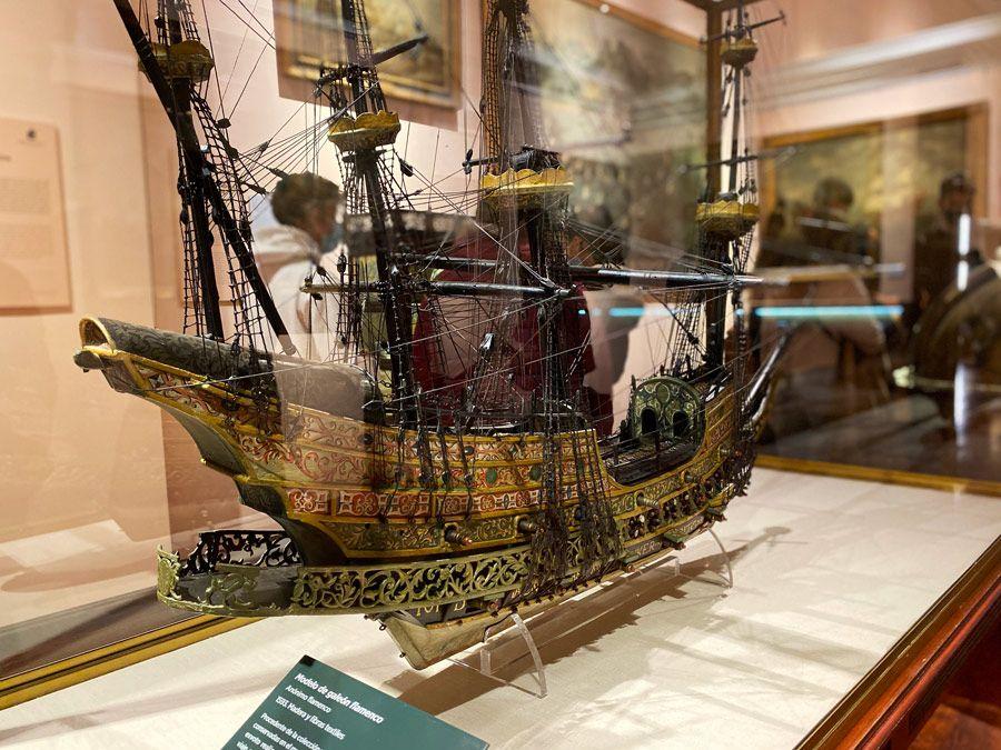 galeon flamenco museo naval