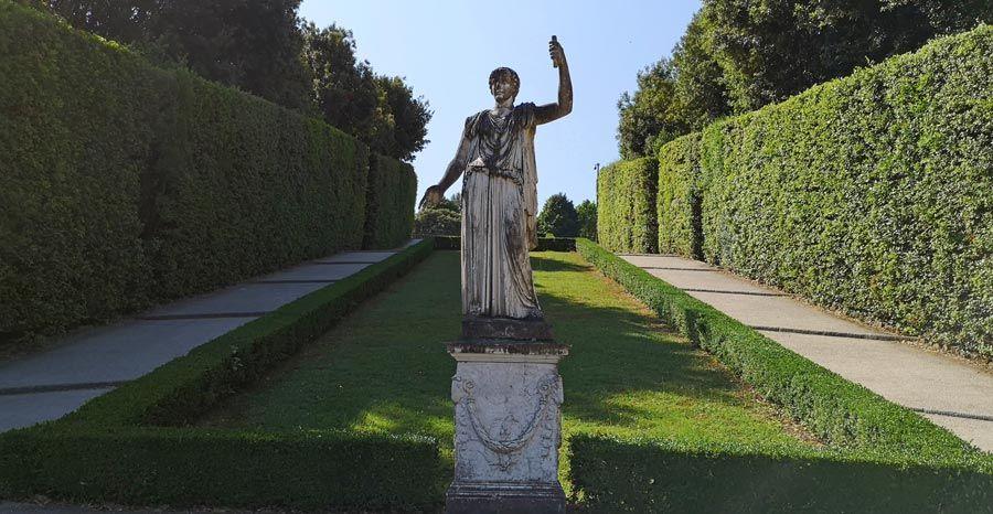 escultura jardin boboli