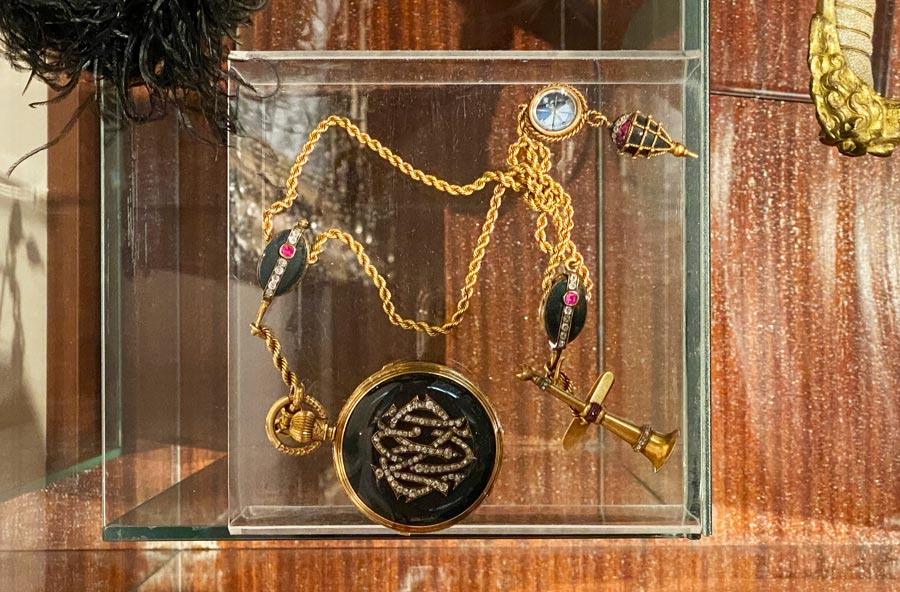 Reloj de bolsillo de Casto Mendez Nunez