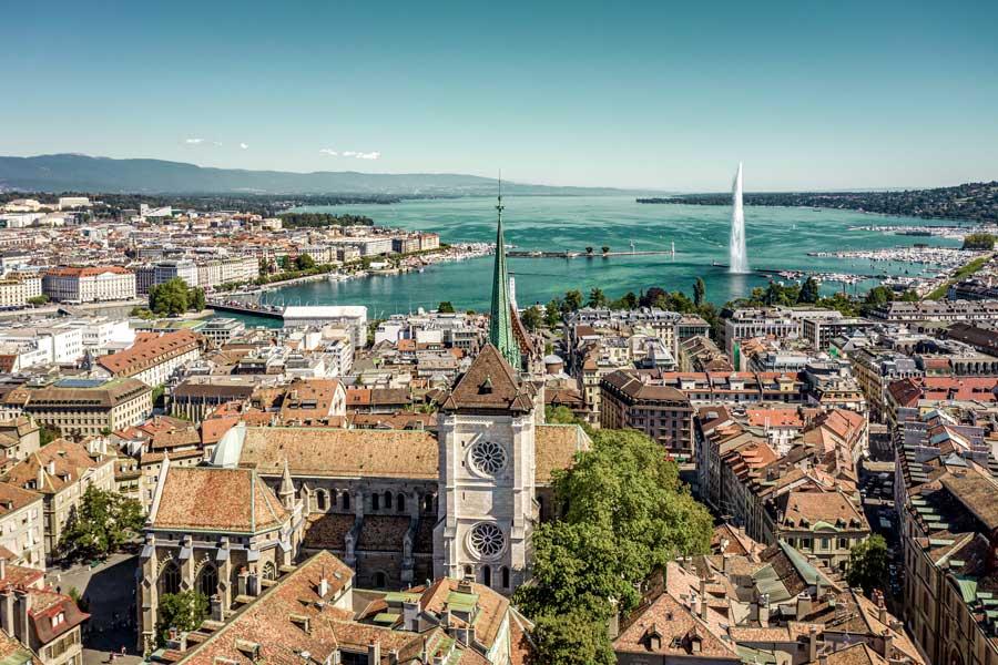 ciudades de suiza para visitar en tren