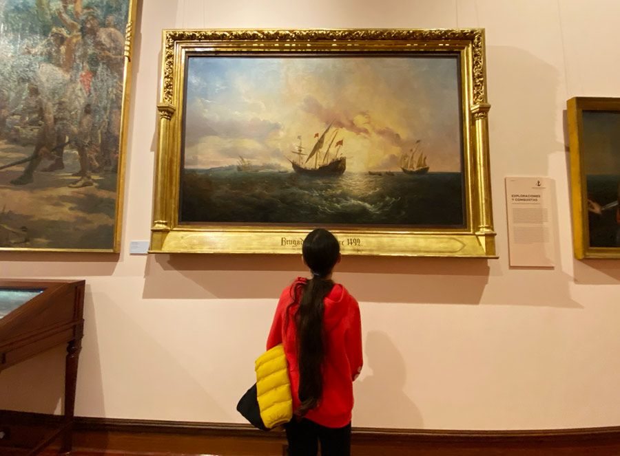 exploradores espanoles museo naval madrid