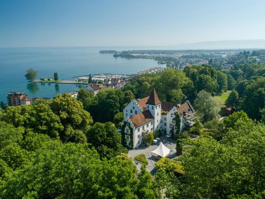 hotel suiza Schloss Wartegg