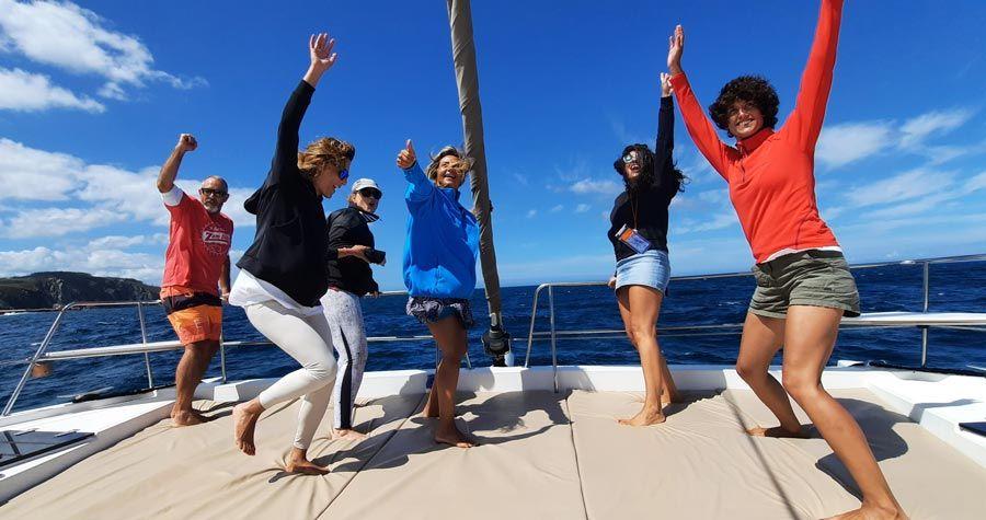navega el camino la mujer y el mar