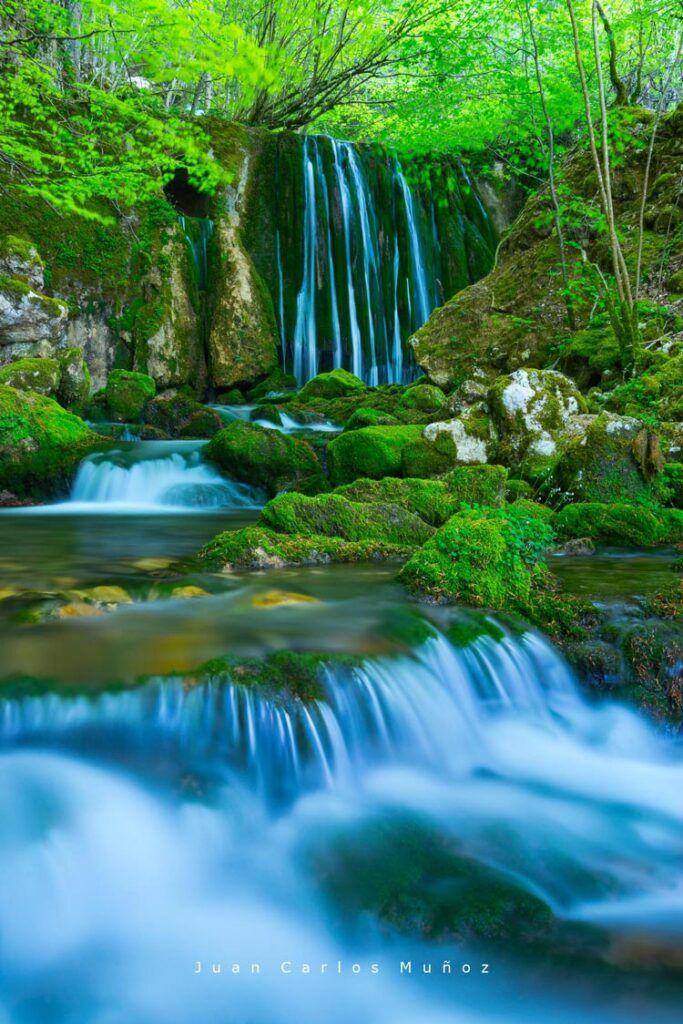 Cascada de Toberia excursiones en la sierra de entzia