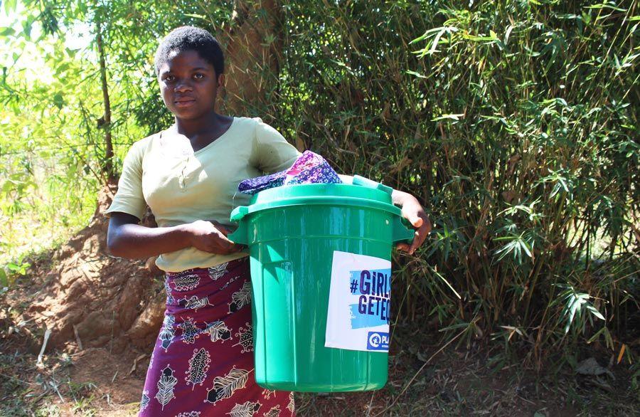 higiene menstrual en africa