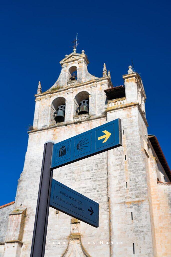 iglesia de santa maria camino de santiago salvatierra