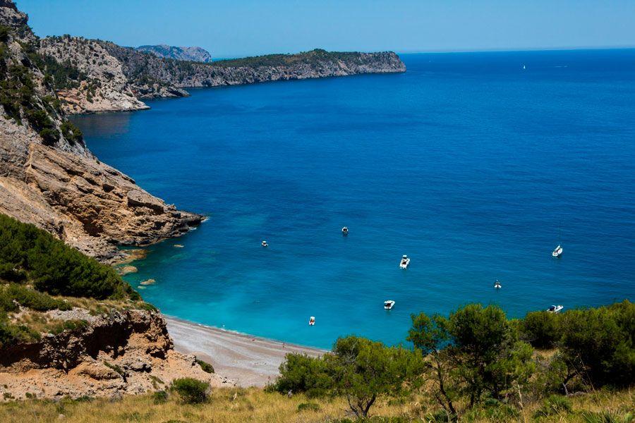 Costa de Mallorca.