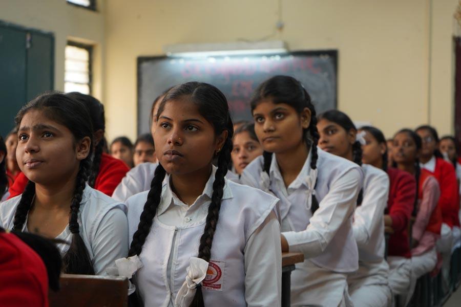 ninas india menstruacion