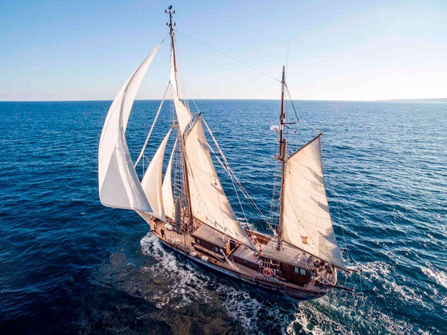 Navegar a vela en Palma