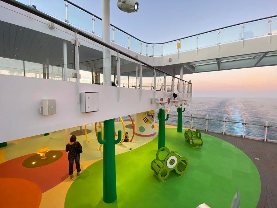 parque infantil en costa smeralda
