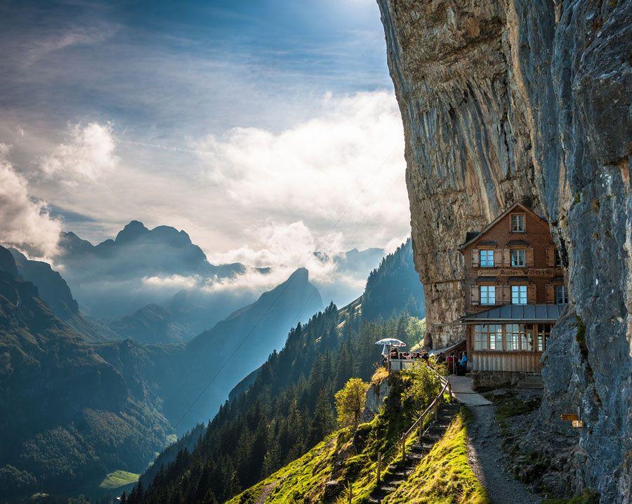 posada de montana ascher en suiza