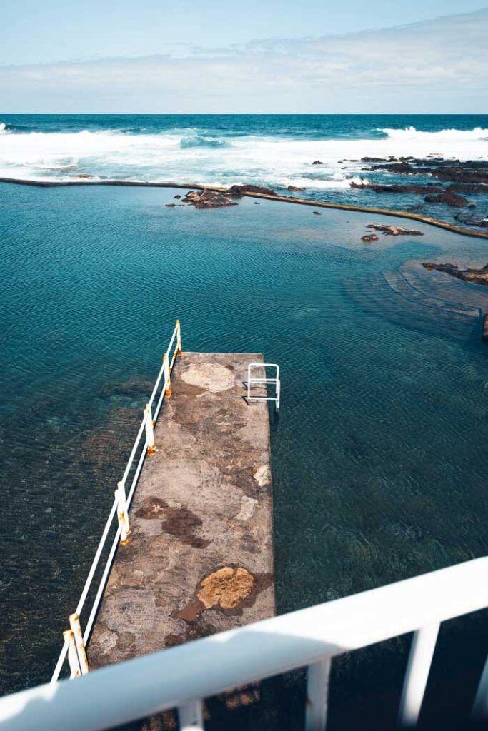 piscinas naturales en Tenerife