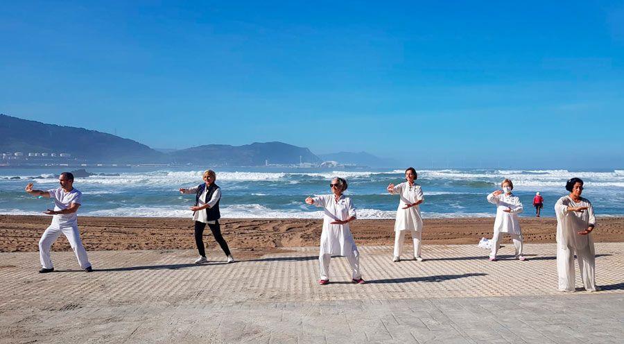 taichi y yoga planes en Getxo