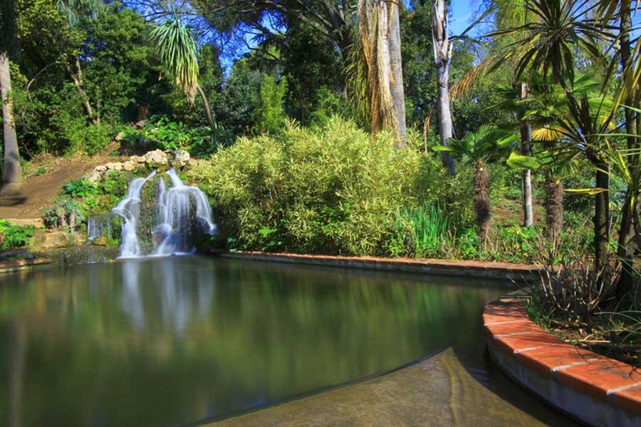 Jardin Olbius Riquer en Hyeres.