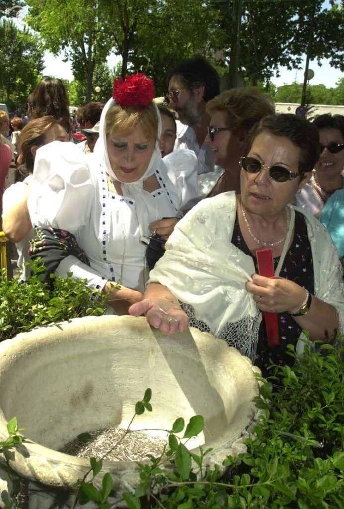 ritual alfileres verbena de san antonio