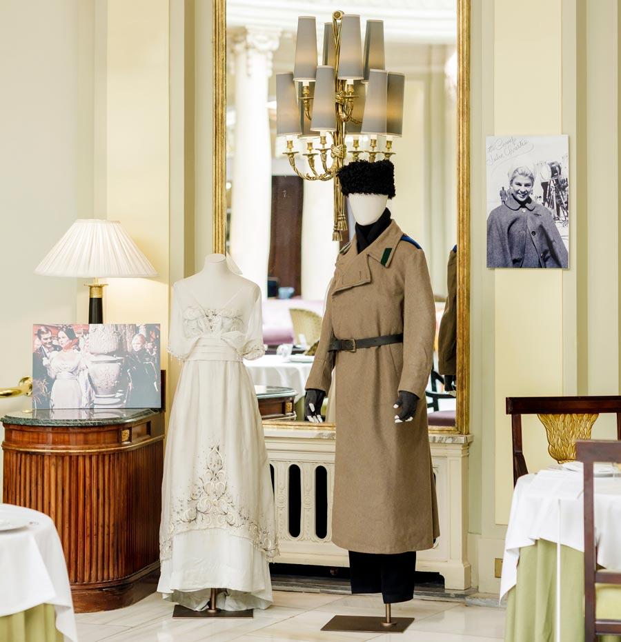 vestuario doctor Zhivago hotel palace