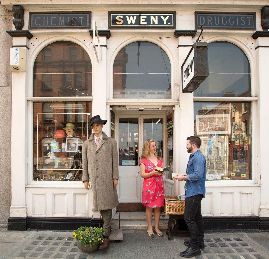 Farmacia Sweny ruta de ulises en dublin