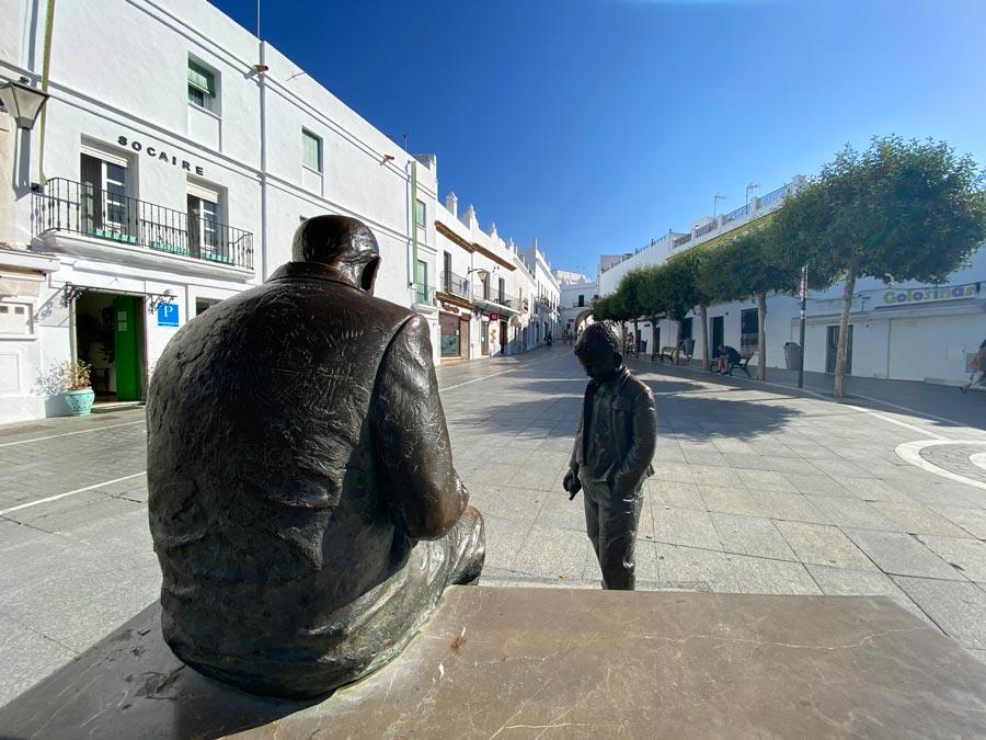 plaza espana Conil